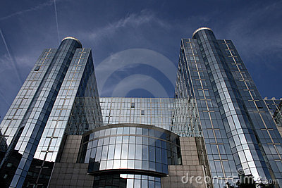 European Parliament Editorial Stock Photo