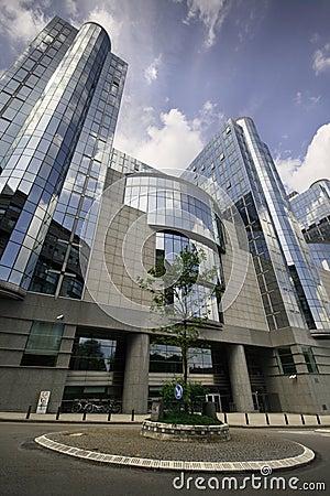European Parliament building - Brussels, Belgium