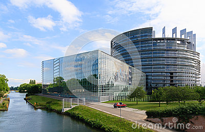 The European Parliament Editorial Photo