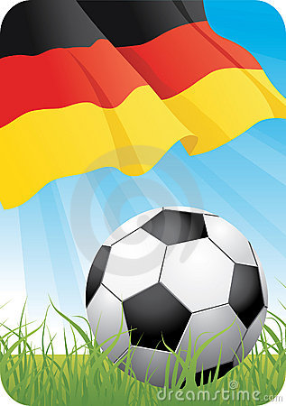 Free European Soccer Championship 2008 - Germany Royalty Free Stock Photos - 5347608