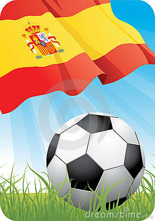 Free European Soccer Championship 2008 - Spain Stock Photos - 5347773