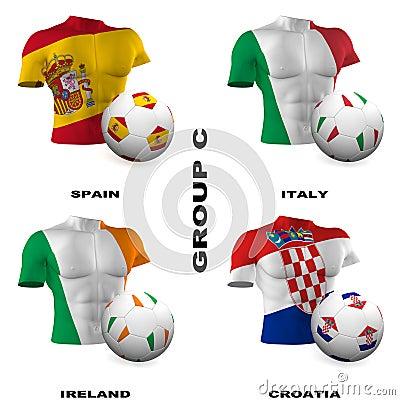European Soccer - Group C