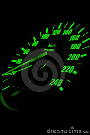 Free European Sport Car Odometer Stock Photo - 1810