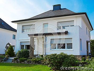 European suburban house