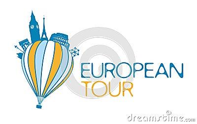 European tour symbol..