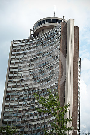 European tower in Mulhouse Editorial Image