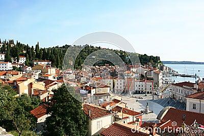 An European town