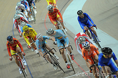 European Track Championships Editorial Stock Photo
