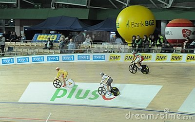 European Track Championships Editorial Stock Image
