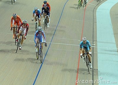 European Track Championships Editorial Photography