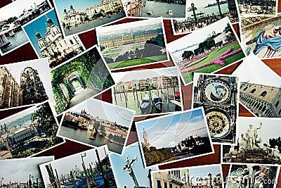 European travel photos