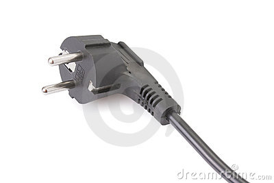 European two pin power plug
