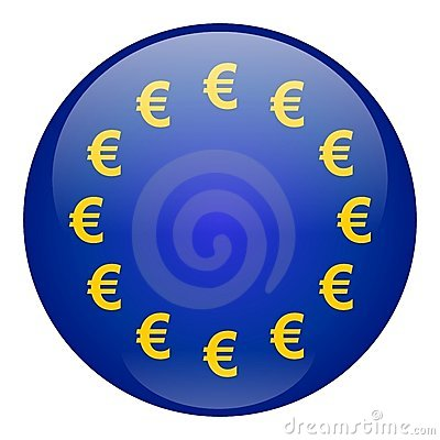 European Union Currency Button