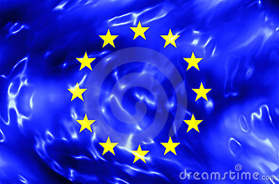 European Union Water Flag