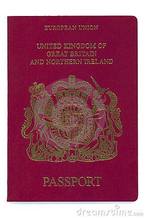 European - United Kingdom - Passport