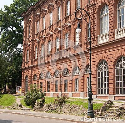 European university building