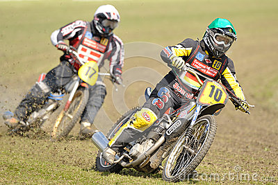 European Veteran Longtrack Series Editorial Stock Photo