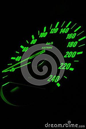 Europeisk odometersport för bil