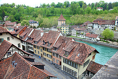 Europeisk town Berne