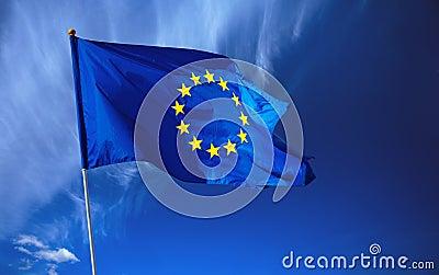 Europejska flaga europejskim