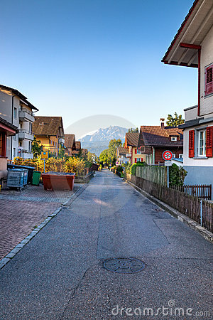 Europejska ogólny ulica