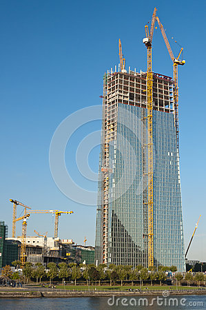Europäische Zentralbank-Aufbau