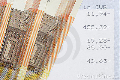 Euros and account statements