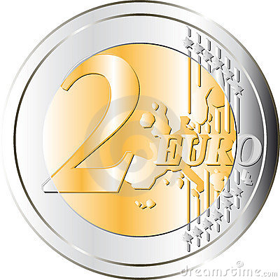 Free Euros Coin Stock Photography - 5999852