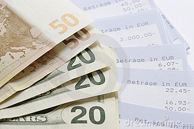 Euros, Dollars and Account statements