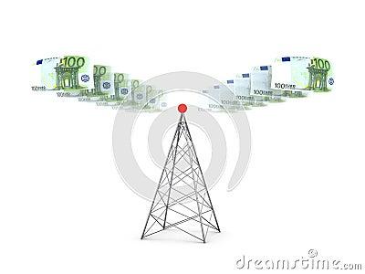 Euros sender