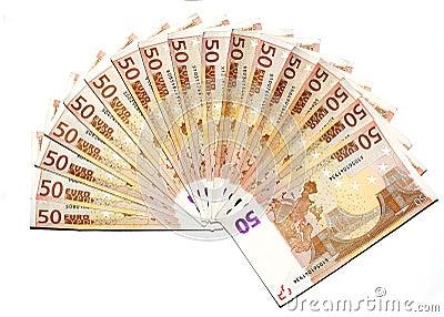 Euros wad