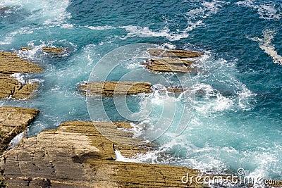 Euskadi rough sea