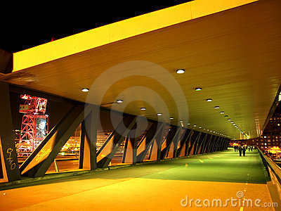 Euskalduna Bridge in Bilbao