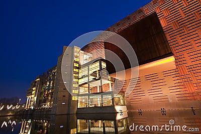 Euskalduna palace Editorial Photo