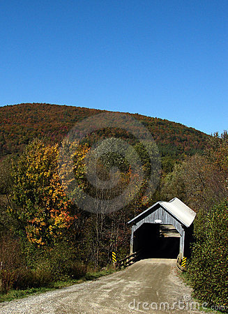 Free Eustis Covered Bridge 3 Royalty Free Stock Images - 5745879