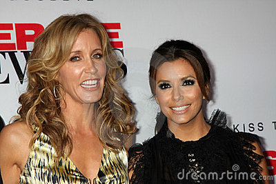 Eva Longoria, Felicity Huffman Editorial Photo