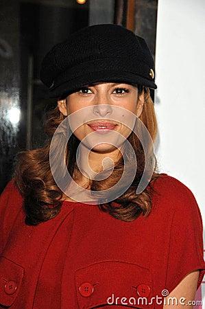 Eva Mendes Editorial Stock Photo