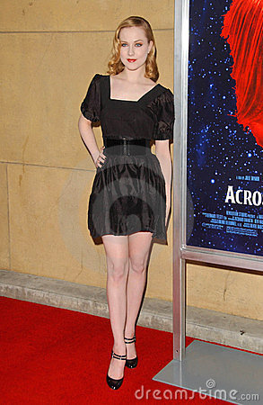 Evan Rachel Wood, Evan Rachel-Wood Editorial Image
