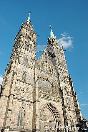 Evangelical Lutheran St.Lorenz Church in Nuremberg