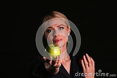 Eve hands YOU an Apple