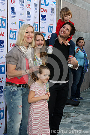 Eve,Jennie Garth,Peter Facinelli,Jenny Garth Editorial Stock Image