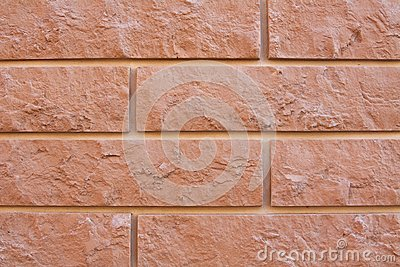 Even decorative brick wall background