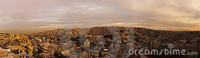 Evening in Amman
