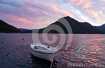 Evening in the Bay of Kotor