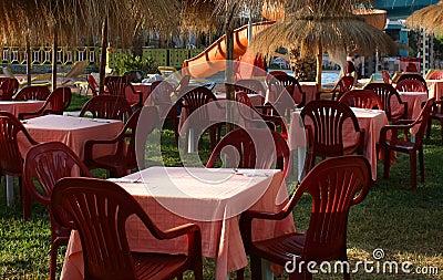 Evening dinner on hotel