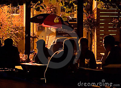 Evening Drinks Editorial Stock Image