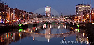 Evening in Dublin