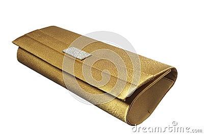 Evening golden bag
