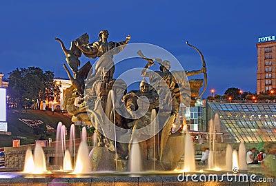 Evening Kiev-City