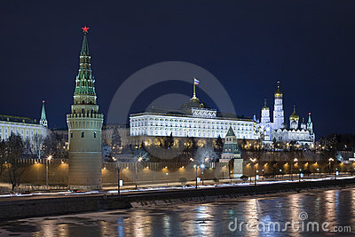 Evening kind to the Kremlin